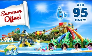 Dreamland Aqua Park Ticket for Adult Or Child AED 95 Only