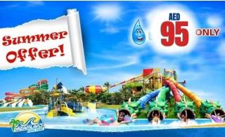 Dreamland Aqua Park Ticket for AED 95 Only