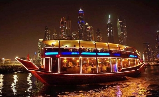 Dhow Cruise Dubai Creek From AED 70