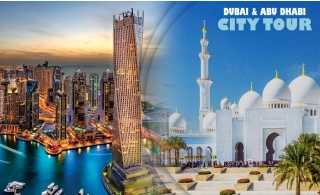 Dubai Private City Tour for 6Person with Pickup & Drop off