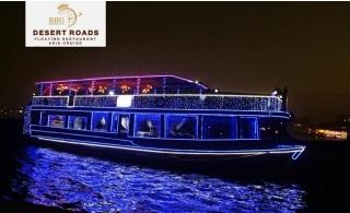 2 Hours VIP Dinner Creek  Cruise from Desert Roads Floating Restaurant.