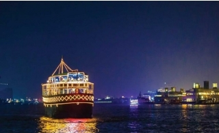 2 Hours Oberoi Premium Dinner Creek Cruise with 4-star Dinner Buffet.