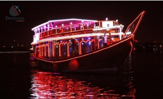 Evening or Sunset Cruise at Deira Creek from Destination MiddleEast.