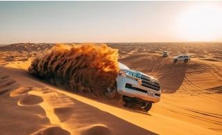 4x4 Home Pickup & Drop Off Desert Safari from Universal Tourism.