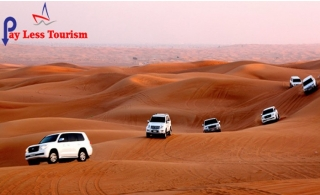 Hit the dunes with Desert Safari inclusive of buffet dinner, fun activities, entertainment and more from Payless Tourism starting at AED 34 – Centralized or Home Pickup Options Available.