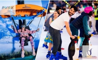 Combo Offer: Super 7 Pass at VR Theme Park + Dubai Ice Rink