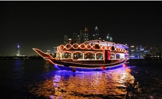 2-hour Classy Marina Dhow Cruise with International Dinner.