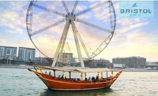Marina Canal Dhow Cruise from Bristol Middle East Yacht Solution
