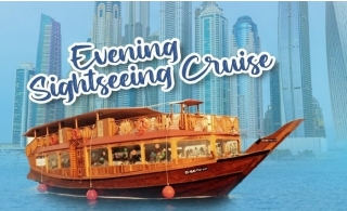 Dubai Marina Evening Sightseeing Cruise for AED 35 only.