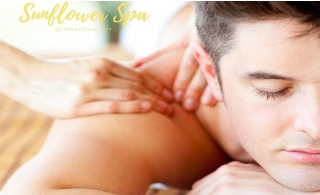 Full body spa therapy at Sunflower Spa - International City.