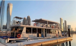 Private Glass Boat Cruise for Up to 70 pax from Silver Queen Yachts.