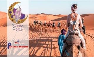 Desert Safari Ramadan packages by PayLess Tourism. Transportation is also available.