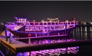 2.5 Hours Zabeel Water Canal Cruise with Dinner and Entertainment