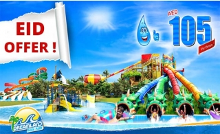 Celebrate EID At Dreamland Aqua Park For AED 105 Inclusive Of VAT For Non-Bachelor.