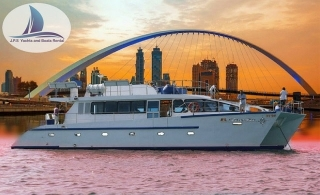 Enjoy The Fascinating View Of Dubai Water Canal While Sailing On El Mundo Catamaran With 2-Hour Cruise From AED 55.