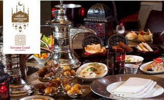 Emirates Grand Hotel Apartment Iftar Buffet