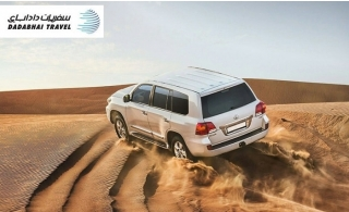 Evening Desert Safari VIP Land Cruiser Pick up & Drop off or Centralized transportation from Dadabhai Travel. VIP Private Desert Safari also available.