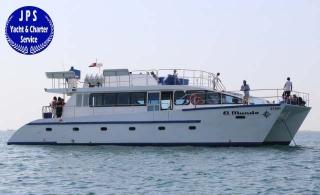 64 ft. Exclusive Catamaran Cruise for 50 pax from JPS Yacht & Charter Service, starting at AED 1000 per hour