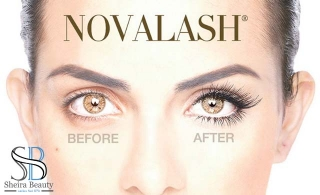 Eyelash Extension with an option of Eyebrows and Upper Lip Threading from Sheira Beauty & Ladies Nail Spa
