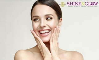 3 Hours of Relaxing Beauty Package from Shine N Glow Ladies Salon and Spa for AED 139.