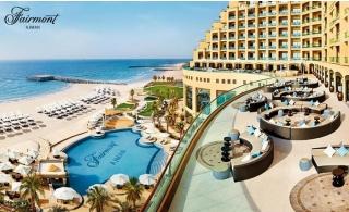 5* Fairmont Ajman Hotel Stay With Breakfast or Half board.