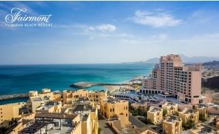 5* Fairmont Fujairah Beach Resort Hotel Stay with Breakfast.