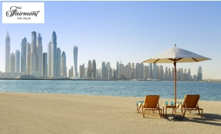 5* Fairmont The Palm Hotel Pool and Beach Access from AED 65.
