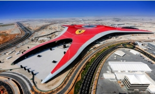 Ferrari World Theme Park Ticket.