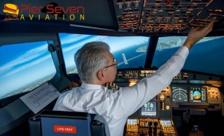 Fly the award-winning Airbus A320 with Flight Simulator Experience at Pier Seven Aviation – Sharjah, starting at AED 239