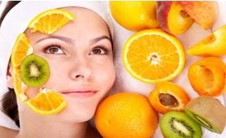Revitalize your skin with fruit Facial + face Detan + threading @ Cosmeza Beauty center