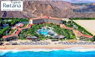 5* Fujairah Rotana Resort and Spa One-Night Family Stay with Breakfast.