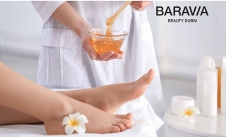 Feel the sensation of soft and smooth skin with waxing packages at Baravia Beauty Center , starting from AED 99 only! Includes full body waxing.