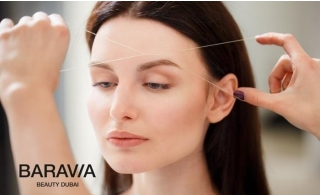 Rev up your look with hair mask & full face threading packages from Baravia Beauty Center, from AED 126 only!