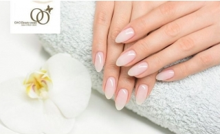 Gelish Manicure & Pedicure from O & O Beauty Center in JLT.