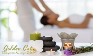 60 minutes relaxing Thai therapy, 4 hands therapy, moroccan bath or hot oil massage from Golden Cat Therapeutic Massage Center.