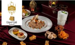 Grand Café Boulevard Lebanese Iftar Buffet