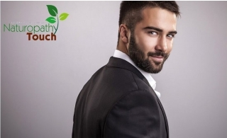 Men's Grooming Packages at Naturopathy Touch JLT. Haircut, beard trim or shave, manicure or pedicure and more services from AED 64 only.