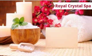 Relaxing Therapy of your choice at Royal Crystal Spa, starting at AED 59.