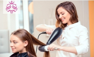 Hair & Nails packages for Ladies from AED 39 at Sahara Beauty Salon.