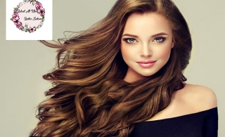 Full Head Color , Hair Cut, Hot Oil & Blow Dry at Luluat al Khan Ladies Salon Starting from AED 49 Only.