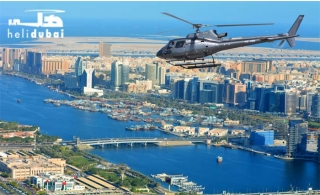 Soar the high skies for an unforgettable Heli Dubai aerial scenic tour from AED 449.