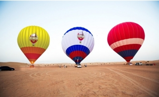 Hot Air Balloon Ride with Transportation.