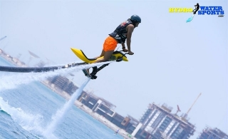 Fly over the water with 30 minutes Jet Pack experience at The Palm from Hydro Water Sports starting from AED 199.