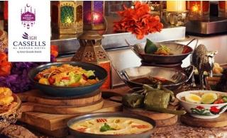 Iftar Buffet at Cassells Al Barsha Hotel.