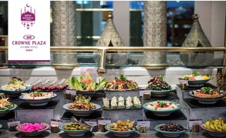5* Iftar Buffet at Crowne Plaza® Dubai SZR