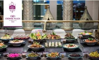 5* Iftar Buffet at Crowne Plaza® Dubai SZR for AED 109