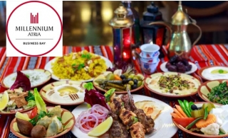 Iftar Buffet at Millennium Atria Business Bay.