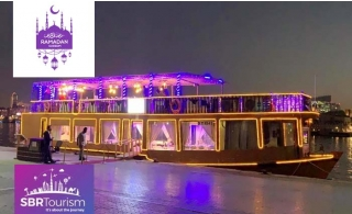 2 Hours Glass Creek Cruise with Iftar Buffet at Desert Roads Floating Restaurant