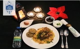 Iftar Combo Box from Sanjeev Kapoor's Khazana Restaurant.