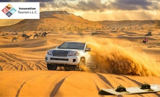 4x4 Private Pick and Drop for a Red Dune Desert Safari from Innovation Tourism, for AED 129